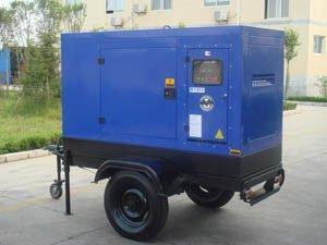 Genset trailer